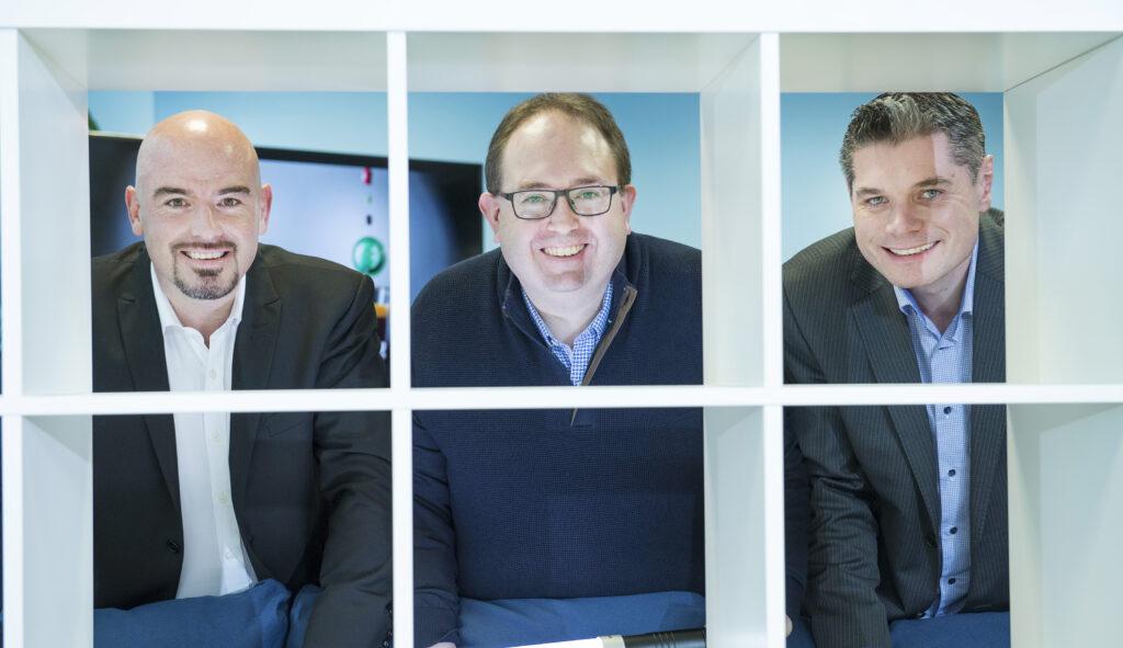Ronan Murphy, DC Cahalane, and Emmet Kearney at 'The Future of Work' Tech Talk