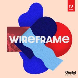 Wireframe podcast logo