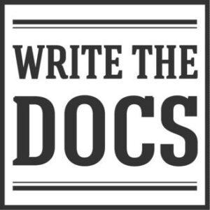 Write the docs podcast logo